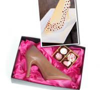 Cinderella – Belgian Chocolate Stiletto