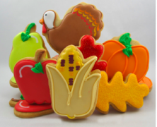 Autumn Harvest Cookie Collection