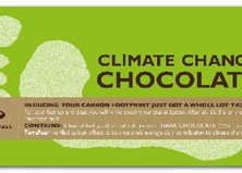 Bloomsberry & Co. 'Climate Change - Footprint' Dark Bar