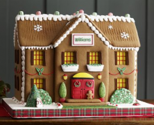 Personalized Gingerbread Estate