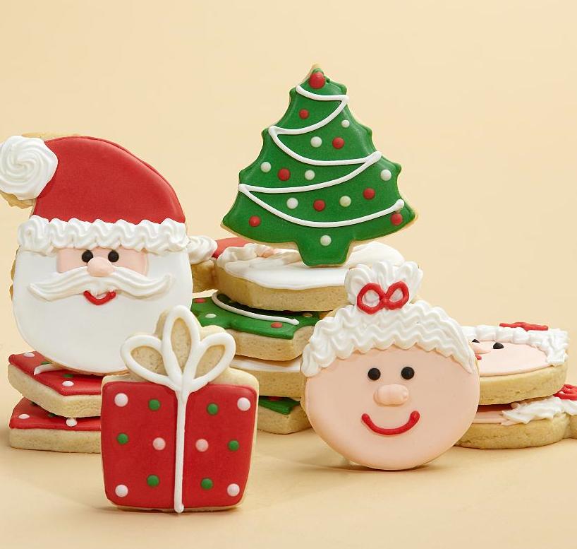Superb Christmas Cookie Decorating Christmas Holiday Cookies Yurga Net Easy Diy Christmas Decorations Tissureus