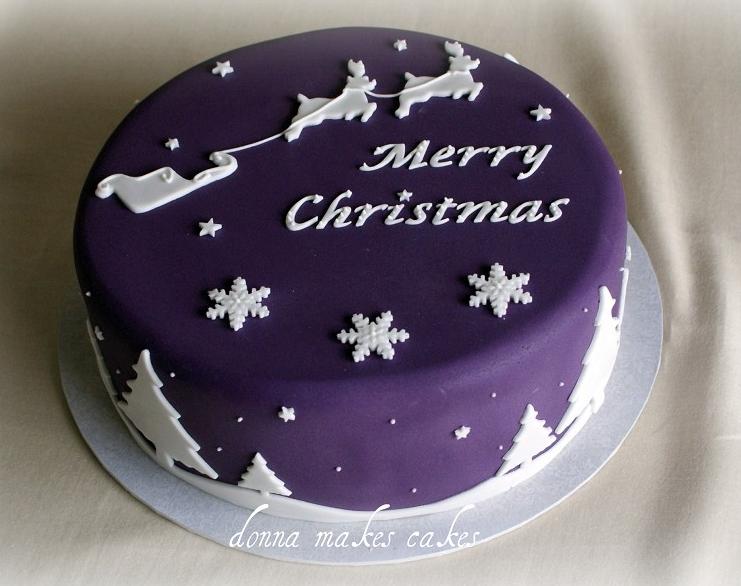 Sleigh Christmas Cake