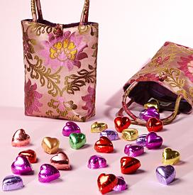 Screen shot 2011 01 31 at 12.49.20 PM Silk Tote with Chocolates