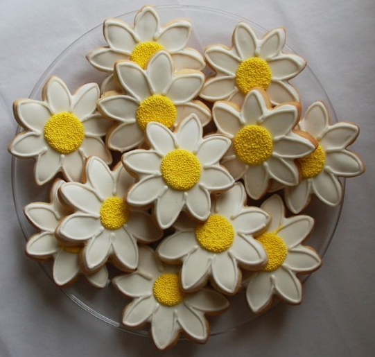 Daisy Cookie Bakers And Artists The Daily Gourmet Food
