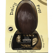Dairy free chocolate egg