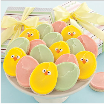 Frosted Easter Cookies