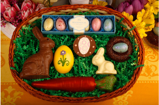Woodhouse Chocolate Easter Basket