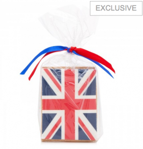 Fancy Nancy Union Jack Cookie / Biscuit