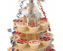 Royal Wedding Cupcake Tower