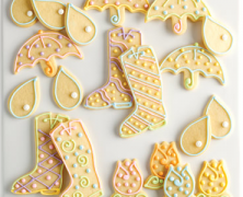 Spring Showers Cookies
