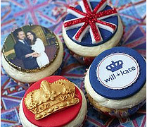 Royal Wedding Cupcakes