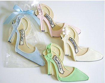 Wedding Shoe Cookies
