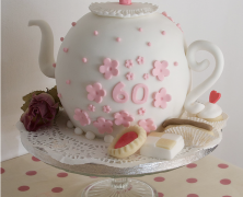 Mother's Day Tea Pot Cake
