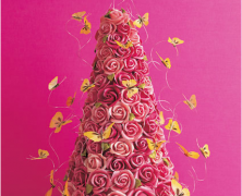 Romantic Rose Tower Cake