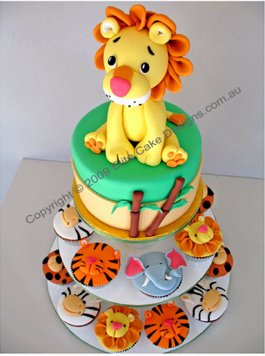 Cake Designs Animals : Birthdays Bakers and Artists The Daily Gourmet Food ...