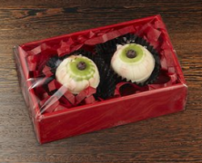 Halloween Chocolate Eyeballs