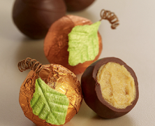 Pumpkin Patch Chocolate Truffles