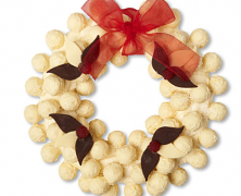 Coconut truffle wreath