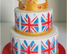 Diamond Jubilee Celebration Cake