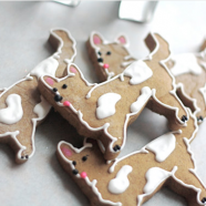 Corgi Gingerbread Cookies