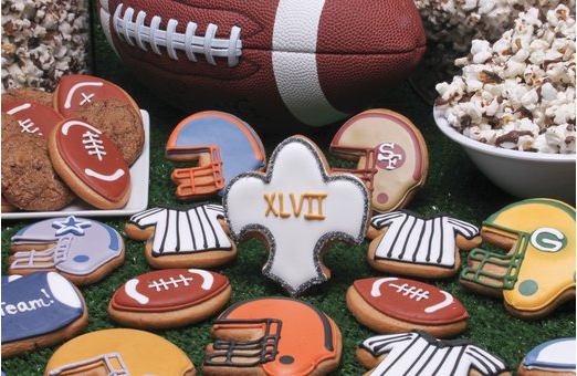 Eleni's Game Day Football Cookies