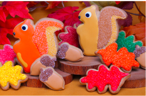 Fall Foliage Cookie Gift Set